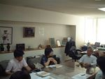恵庭市・中島市長との面談�@〜「コトバはチカラ。政策で闘う!」この言葉に信念を感じます。