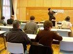 こちらは平成17年1月30日に開催した市政報告会の一コマです。