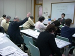 写真は、1月28日の市政報告会です