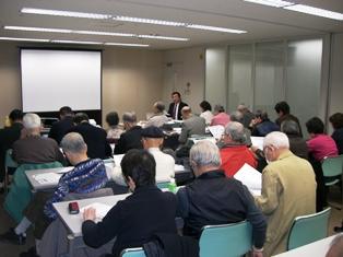 20090308政策グループあびこ市政報告会